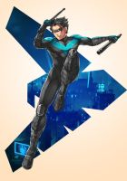 Nightwing by kevzter