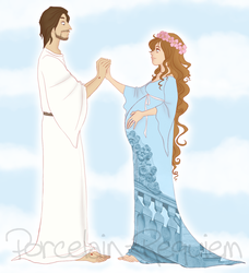 Christ and His Bride by Porcelain-Requiem