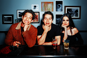 Manip | Selena Gomez and Teen Wolf Cast by sassygayangel