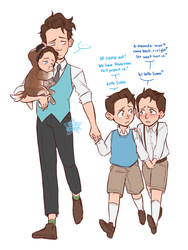 DBH: Kids by Usagiko-JOvi