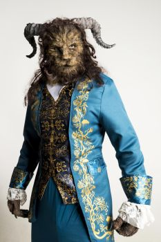 Beauty and the Beast Prosthetic Makeup by SonsationalCreations