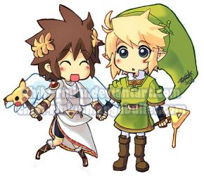 PIT AND LINK BFF by BettyKwong