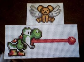 nintendo cross stitch 2 by grumble-king2