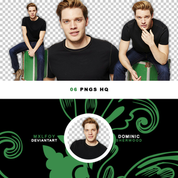 Pack png 141 // Dominic Sherwood by mxlfoy