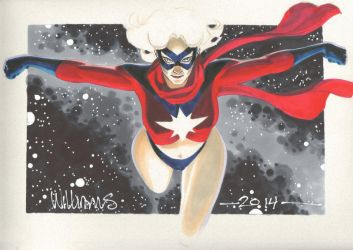 The only Ms Marvel I know by BroHawk