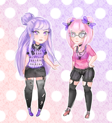 coolest sisters in town by Nokkii