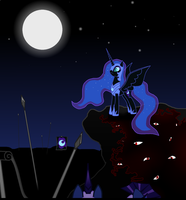 Nightmare Moon And Her Army by ArdonSword