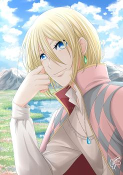 Howl's Moving Castle: Howl by himachan
