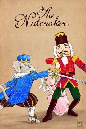 The Nutcracker Card With Title by Leharc--BlueHeart