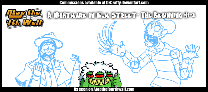 AT4W:A Nightmare on Elm Street- The Beginning #1-2 by DrCrafty