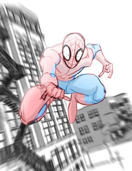 Spiderman now by jusdog