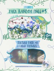 Pack Random PNGs 5 + Texture Pack 2 by ChjpEXOTICHH