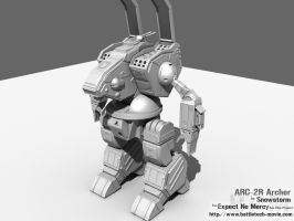 BT-M Model: ARC-2R Archer by absolute-chaos