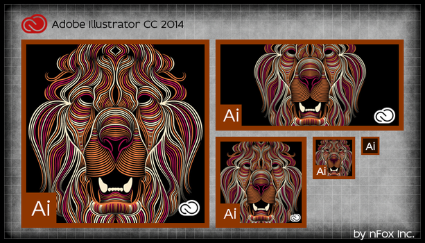 Adobe Illustrator CC 2014 tile by nfox25