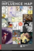 MJR Influence Map by MichaelJRuocco