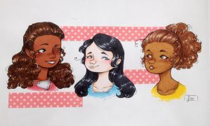 - Angelica, Eliza and Peggy - by FoxfromWonderland