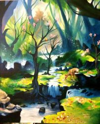 The river by LoSqui