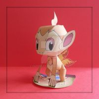 Pokemon Papercraft - Chimchar