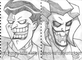 Joker- Then and Now by hanyou-halfa