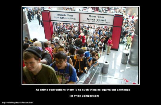 Anime Conventions - Prices by Stormbringer117