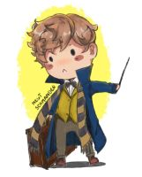 Newt Scamander from Fantastic beasts by Mamoww