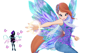 World of Winx Bloom Dreamix - PNG by Gallifrey93