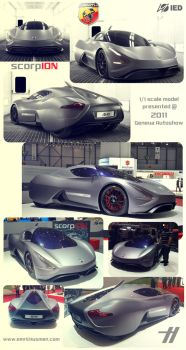 IED ABARTH scorpION real model by emrEHusmen