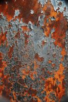 Peeling Rust by LogicalXStock