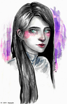 .:Blushing Ultraviolet:. by Lawleighette