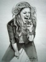 Kelly Clarkson by JAF-Artwork