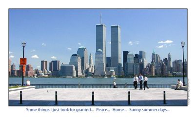 WTC from Jersey City by stuartist