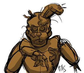 Afton - Sketch by PinkyPills