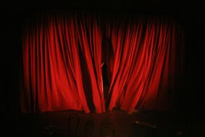 Red Velvet Curtain Opening Scene 1347390685 by subshopautumn