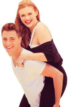 Colton Haynes and Holland Roden PNG by assjay