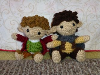 The Baggins' by MilesofCrochet
