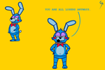Toy Bonnie! by MrGaiaTheFNAFAddict