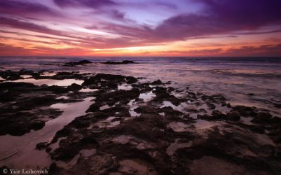 rocky shore by Yair-Leibovich