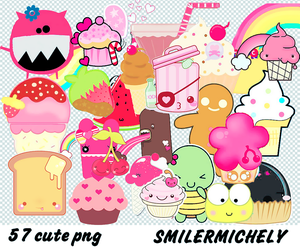 Pack 015 Cute Png Pack by SMILERMICHELY