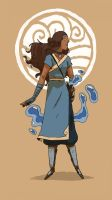 ATLA - Katara by Miyathena1975