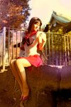 Sailor Mars - sunset by foux86