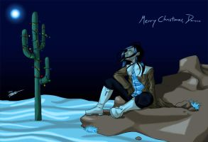 Christmas 2011 - for Darwin by Mitsukaiten