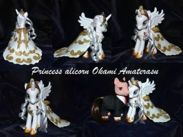 Princess alicorn Okami Amaterasu by Soulren
