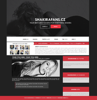 ShakiraFans.cz - Ordered Wordpress Theme by lenkamason