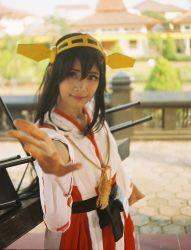Haruna from Kantai Collection by yanthemonster