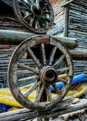 Wooden Wheels 3. by bigzoso