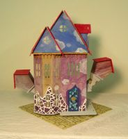 Undersized Urbanite - Surrealism Dollhouse 1 by Kyle-Lefort