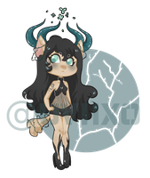 [CLOSED] thorned kitty adopt auction by uviixo