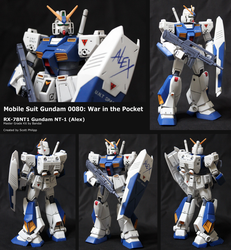 RX-78-NT-1 Gundam (Alex) by shadowvfx