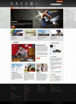 Layout for Online Magazine by harkalopchan