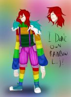 Ask Rainbow L.J - 'Ref Sheet' by EvilCharlotte